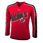 Reebok New Jersey Devils Colorblock Tee - Boys 8-20