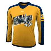 Reebok Nashville Predators Colorblock Tee - Boys 8-20