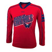 Reebok Washington Capitals Colorblock Tee - Boys 8-20
