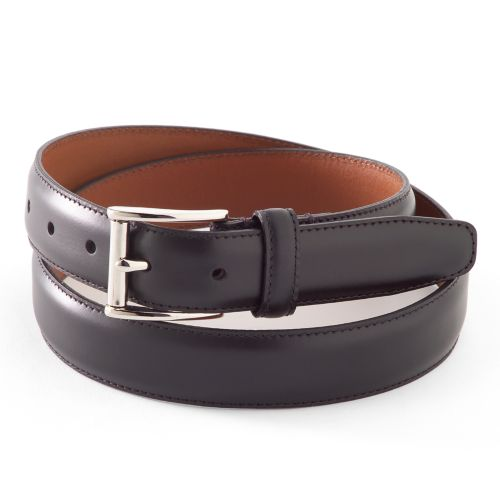 Chaps Nickel Buckle Leather Belt