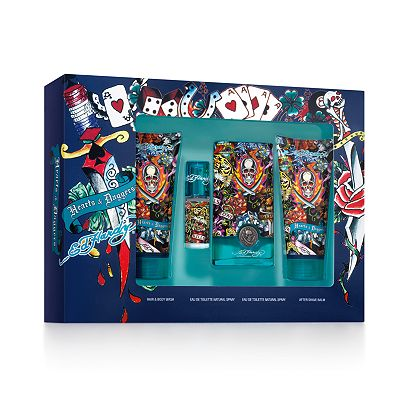 Ed Hardy by Christian Audigier Hearts and Daggers Eau de Toilette Fragrance Gift Set