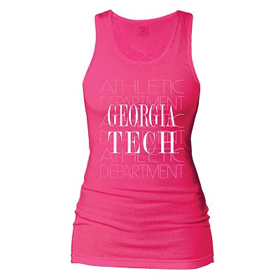 Russell Georgia Tech Yellow Jackets Campus Tank
