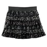 SO Embellished Tiered Skirt - Girls Plus