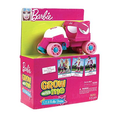 Barbie Grow With Me 1,2,3 Roller Skates by Fisher-Price - Girls