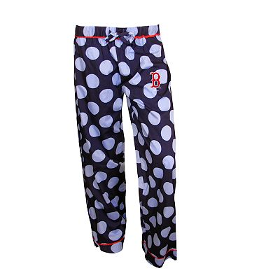Boston Red Sox Polka-Dot Pajama Pants