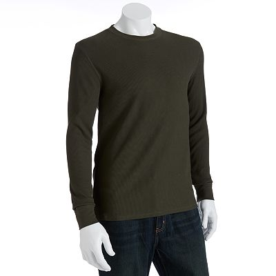 Levi's Cuffed Thermal Tee and Beanie Combo - Men