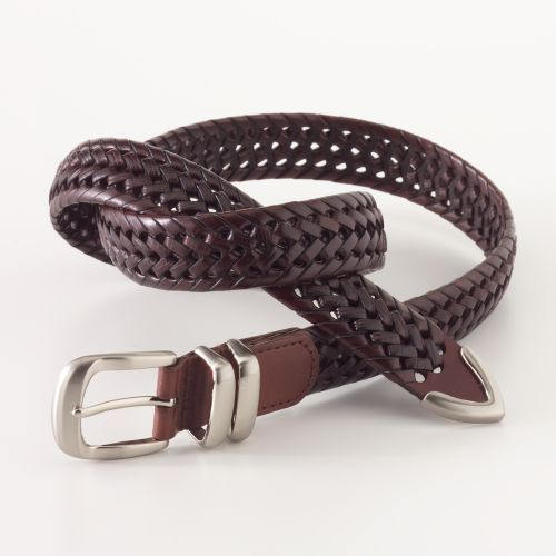 Relic Braided Leather Belt
