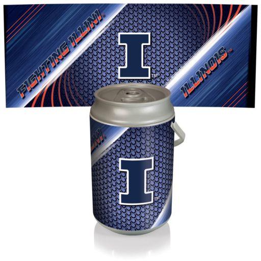 Picnic Time Illinois Fighting Illini Mega Can Cooler