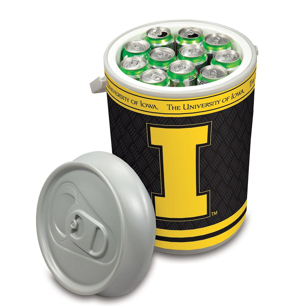 Picnic Time Iowa Hawkeyes Mega Can Cooler