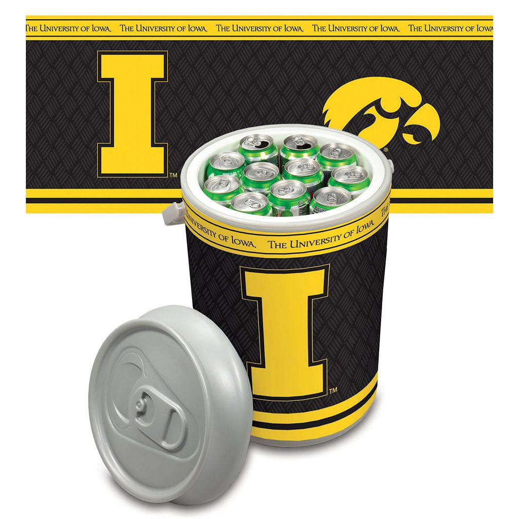 Picnic Time Iowa Hawkeyes Mega Can Cooler