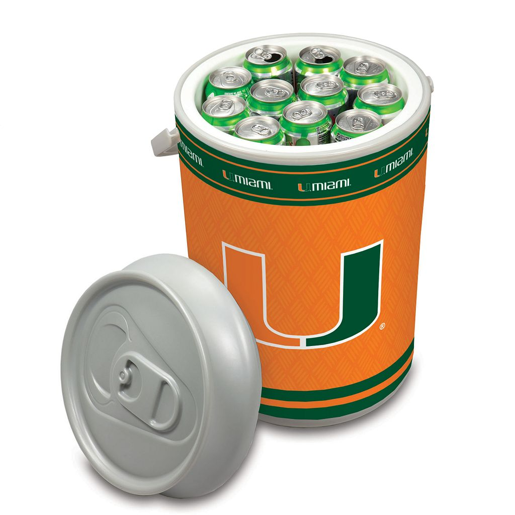Picnic Time Miami Hurricanes Mega Can Cooler