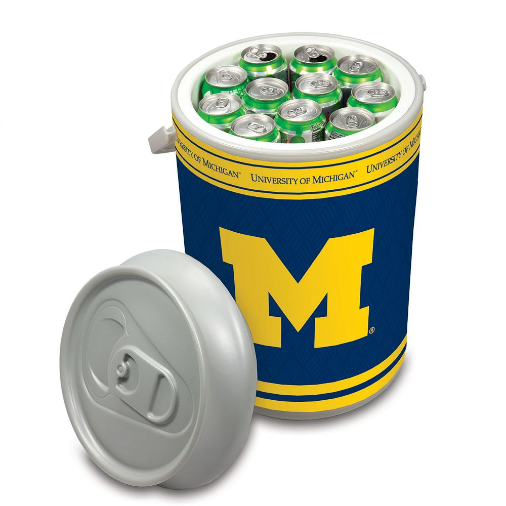 Picnic Time Michigan Wolverines Mega Can Cooler