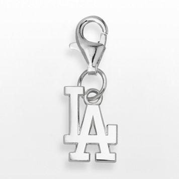 LogoArt Los Angeles Dodgers Sterling Silver Logo Charm