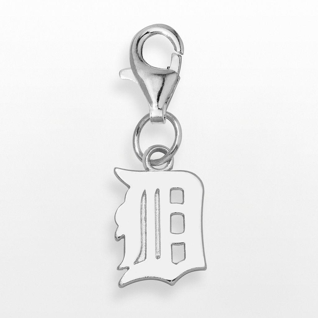 LogoArt Detroit Tigers Sterling Silver Logo Charm
