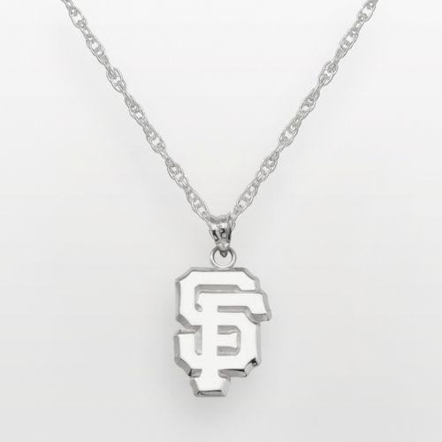 LogoArt San Francisco Giants Sterling Silver Logo Pendant