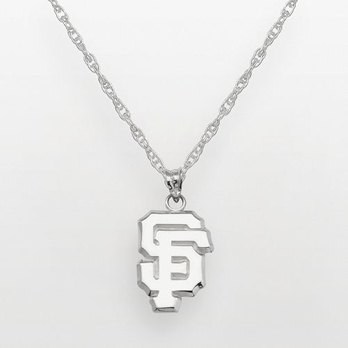 LogoArt San Francisco Giants Sterling Silver Logo Pendant