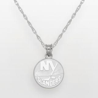 LogoArt New York Islanders Sterling Silver Logo Pendant