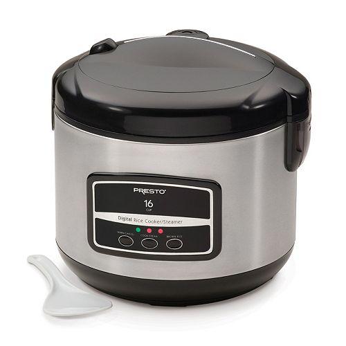 Presto 16-Cup Digital Rice Cooker