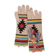 MUK LUKS Painted Desert Lace-Up Gloves