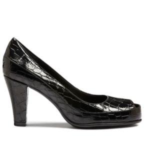 A2 by Aerosoles Big Ben Women's Peep-Toe Dress Heels
