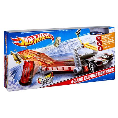 Hot Wheels 4-Lane Elimination Race by Mattel