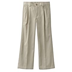 Boys 4-7x Chaps Pleated Twill School Uniform Pants