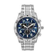 Citizen Eco-Drive Stainless Steel Perpetual Calendar Chronograph Watch - BL5470-57L - Men