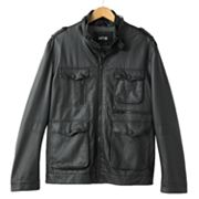 Apt. 9 Faux-Leather Motorcycle Jacket - Men