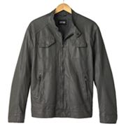 Apt. 9 Faux-Leather Moto Jacket - Men