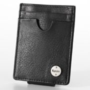 Rolfs Tumbled Leather Card Case Wallet