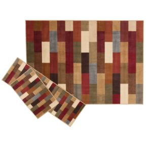 KHL Rugs Contemporary Abstract 3-pc. Rug Set