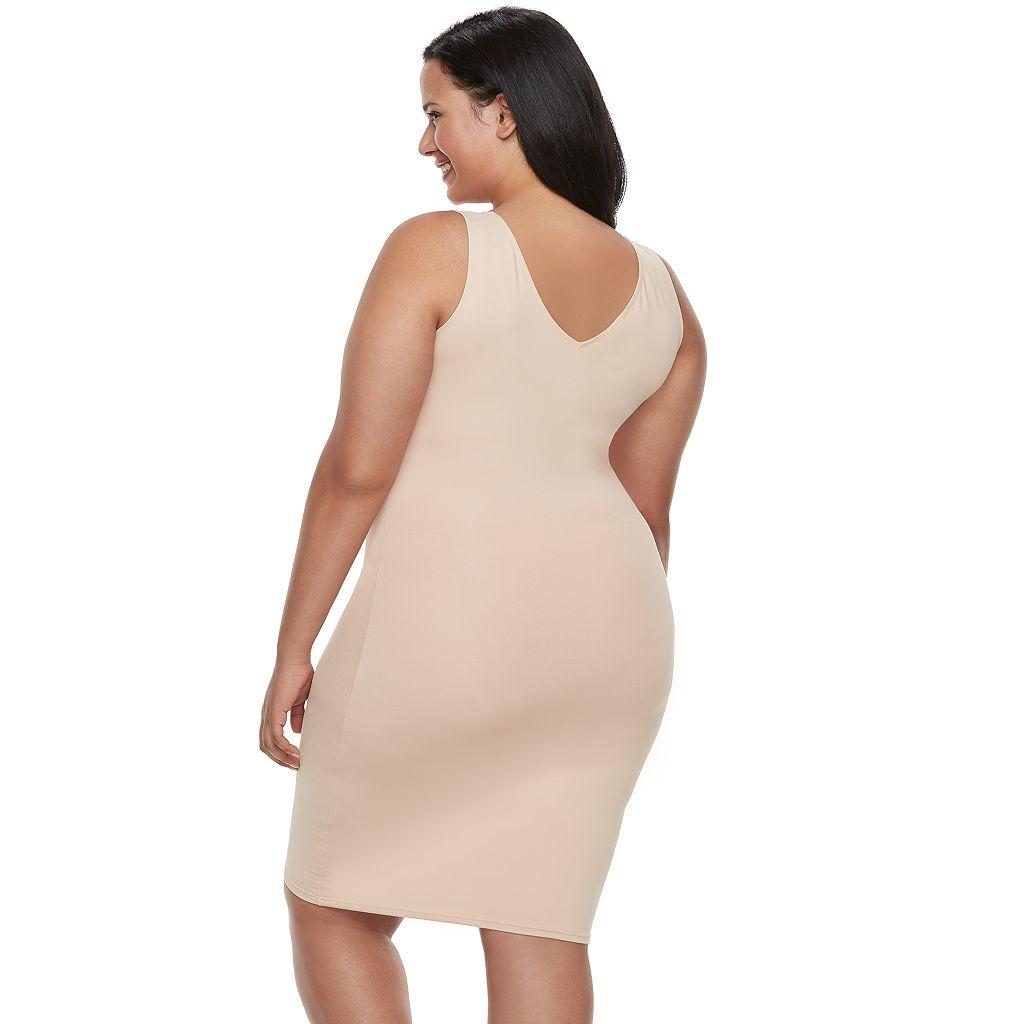 Red Hot by Spanx Sleek Slimmers Tank Slip - Women's Plus - 1649P