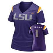 Nike LSU Tigers Dri-FIT Football Replica Tee