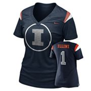 Nike Illinois Fighting Illini Dri-FIT Football Replica Tee