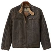 R and O Faux-Fur Jacket - Men