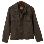 R and O Ottoman Hooded Shirt Jacket - Men