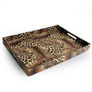 Accents by Jay Animal Patch Serving Tray
