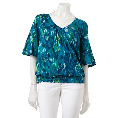 Mudd Abstract Top - Juniors