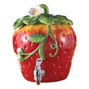American Atelier Fresh Fruit Strawberry 192-oz. Beverage Dispenser