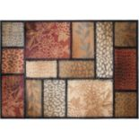 """KHL Rugs Transitional Floral Rug - 7'10"""" x 10'3"""""""