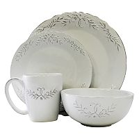 American Atelier Bianca Laurel 16-pc. Dinnerware Set