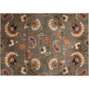 "KHL Rugs Transitional Floral Rug - 7'10"" x 10'3"""
