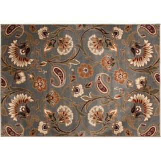 KHL Rugs Transitional Floral Rug - 7'10'' x 10'3''