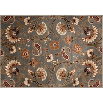 KHL Rugs Transitional Floral Rug - 7'10