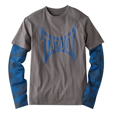 TapouT Camo Mock-Layer Tee