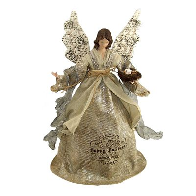 St. Nicholas Square Angel Tree Topper
