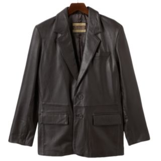 Big & Tall Excelled Leather Blazer Jacket