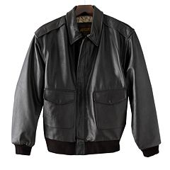 Big & Tall Excelled A-2 Leather Bomber Jacket