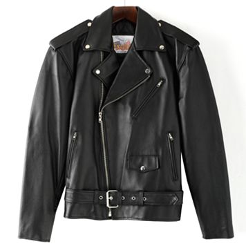 Excelled Leather Motorcycle Jacket - Big & Tall