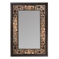 Head West French Tile Wall Mirror